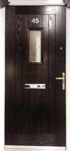 Rustic Cottage-style door